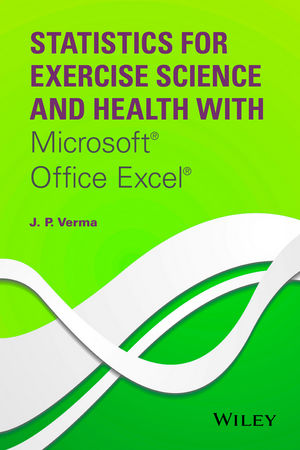 Statistics for Exercise Science and Health with Microsoft Office Excel (1118855175) cover image