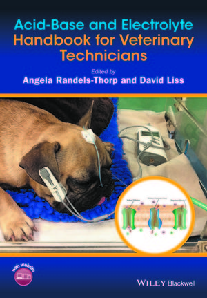 Acid-Base and Electrolyte Handbook for Veterinary Technicians (1118922875) cover image