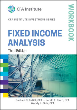 Fixed Income Analysis Workbook, 3rd Edition (1119029775) cover image