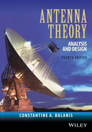 Antenna Theory: Analysis and Design, 4th Edition (1119178975) cover image