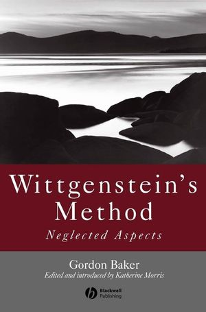 Wittgenstein's Method (1405117575) cover image