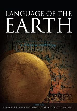 Language of the Earth: A Literary Anthology, 2nd Edition (1405160675) cover image
