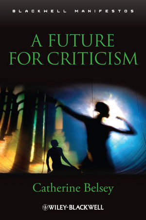 A Future for Criticism (1405169575) cover image