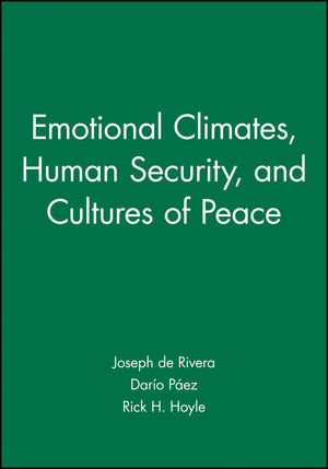 Emotional Climates, Human Security, and Cultures of Peace (1405178175) cover image