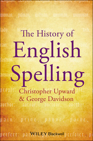 The History of English Spelling (1444342975) cover image