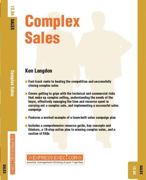Complex Sales: Sales 12.04