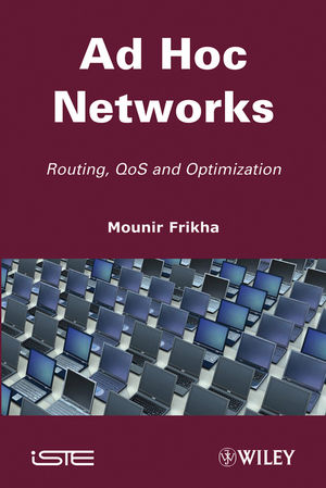 Ad Hoc Networks: Routing, Qos and Optimization (1848212275) cover image