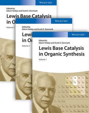 Lewis Base Catalysis in Organic Synthesis, 3 Volume Set (3527675175) cover image