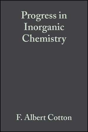 Progress in Inorganic Chemistry, Volume 6 (0470166576) cover image