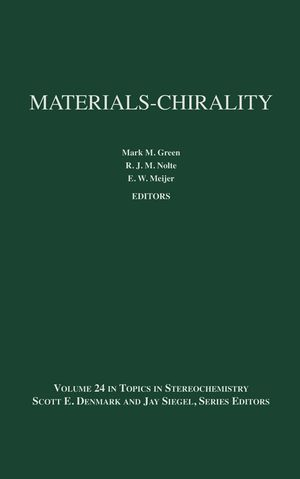 Topics in Stereochemistry, Volume 24, Materials-Chirality (0471054976) cover image