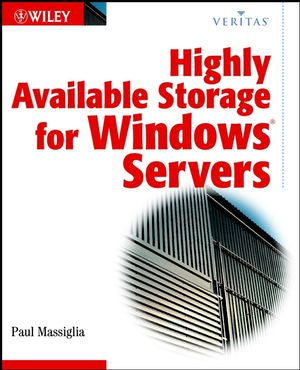 Highly Available Storage for Windows Servers (VERITAS Series) (0471264776) cover image