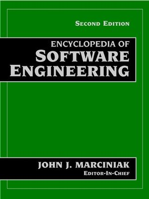 Encyclopedia of Software Engineering, 2 Volume Set, 2nd Edition (0471377376) cover image