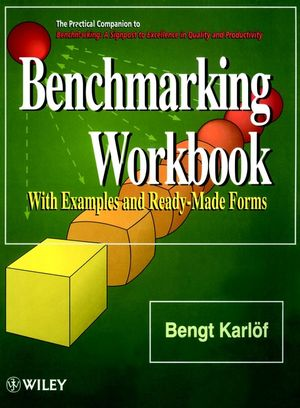 Benchmarking Workbook: With Examples and Ready-Made Forms (0471955876) cover image