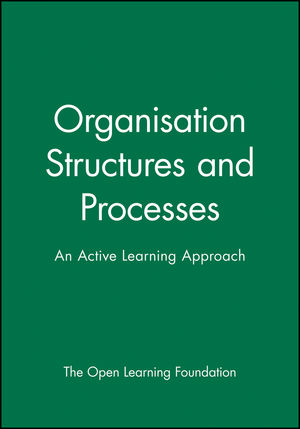 Organisation Structures and Processes: An Active Learning Approach (0631196676) cover image