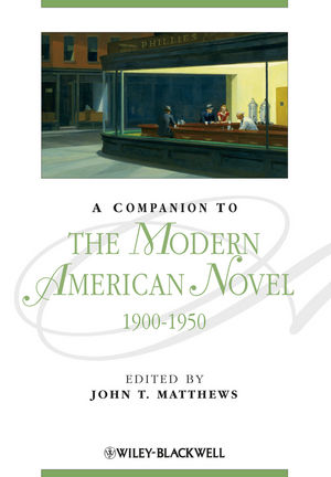 A Companion to the Modern American Novel 1900 - 1950 (0631206876) cover image