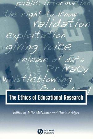 The Ethics of Educational Research (0631231676) cover image