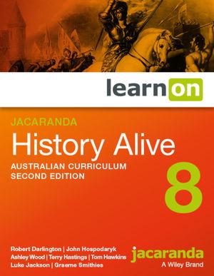 Jacaranda History Alive 8 2e Australian curriculum learnON (Online Purchase)