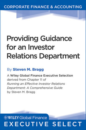 Running an Effective Investor Relations Department: A Comprehensive Guide