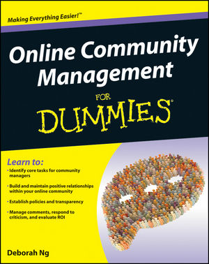Online Community Management For Dummies (1118099176) cover image