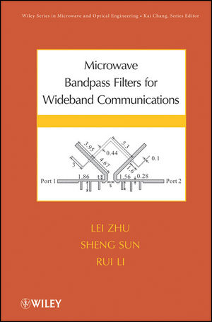 Microwave Bandpass Filters for Wideband Communications (1118197976) cover image