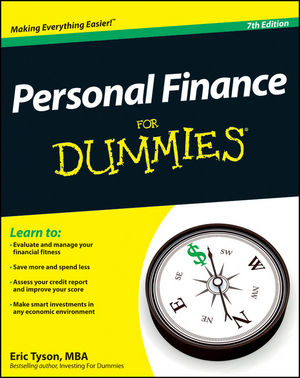 Personal Finance For Dummies, 7th Edition (1118238176) cover image