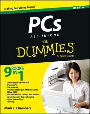 PCs All-in-One For Dummies, 6th Edition (1118330676) cover image