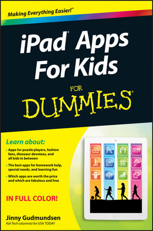 Book Cover Image for iPad Apps For Kids For Dummies