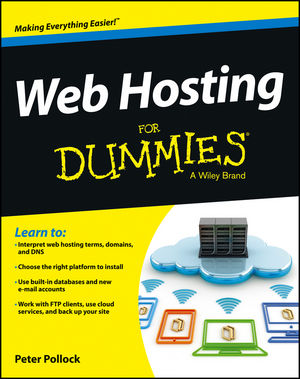 Web Hosting For Dummies (1118540476) cover image