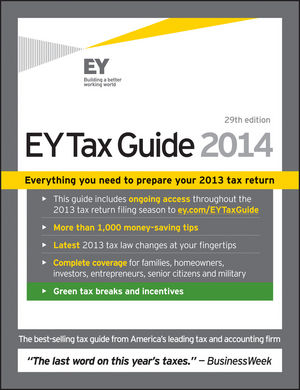 Book Cover Image for Ernst & Young Tax Guide 2014