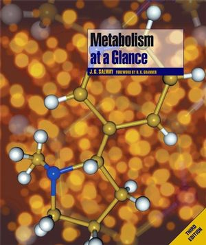 Metabolism at a Glance, 3rd Edition (1118682076) cover image