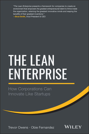 The Lean Enterprise: How Corporations Can Innovate Like Startups (1118852176) cover image