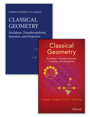 Classical Geometry: Euclidean, Transformational, Inversive, and Projective Set (1118903676) cover image