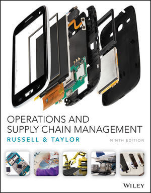 Operations and Supply Chain Management, 9th Edition (1119320976) cover image