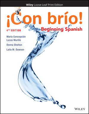 Con brio! 4e: Beginning Spanish Loose-Leaf Print Companion E-Text