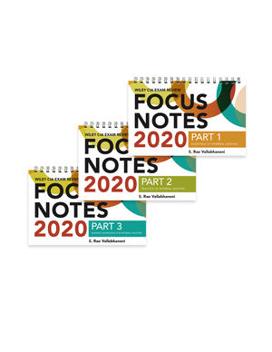 Wiley CIA Exam Review Focus Notes 2020: Complete Set