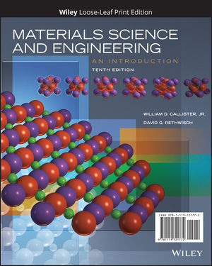Materials Science And Engineering An Introduction 10th Edition Wiley