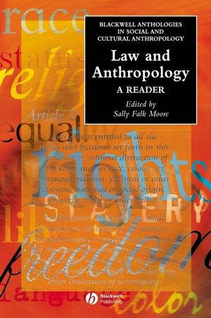 Law and Anthropology: A Reader (1405102276) cover image