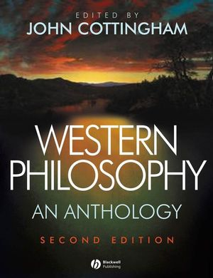 Western Philosophy: An Anthology, 2nd Edition (1405124776) cover image