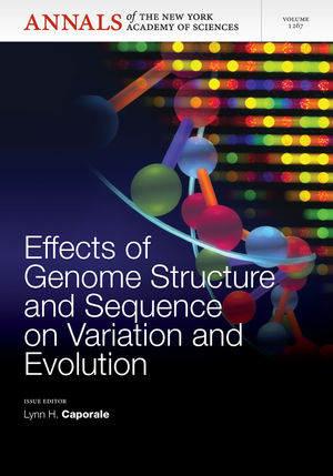 Effects of Genome Structure and Sequence on the Generation of Variation and Evolution, Volume 1267