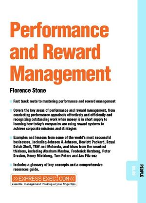 Performance and Reward Management: People 09.09