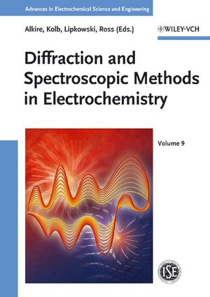 Diffraction and Spectroscopic Methods in Electrochemistry (3527313176) cover image
