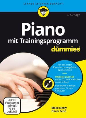 Piano mit Trainingsprogramm für Dummies, 2. Auflage