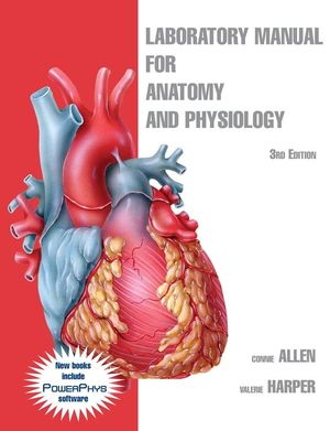 Laboratory Manual for Anatomy and Physiology, 3rd Edition (EHEP000076) cover image