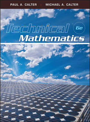 Technical Mathematics, 6th Edition (EHEP001976) cover image