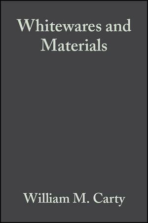 Whitewares and Materials, Volume 25, Issue 2 (0470051477) cover image