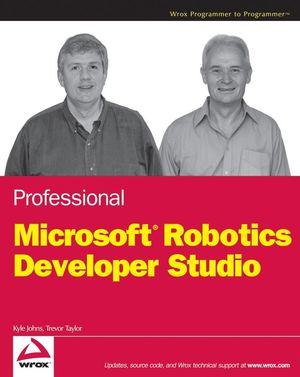 Professional Microsoft Robotics Developer Studio (0470141077) cover image