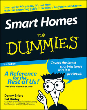 Smart Homes For Dummies, 3rd Edition (0470165677) cover image