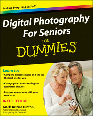 Digital Photography For Seniors For Dummies (0470444177) cover image