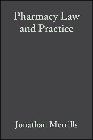 Pharmacy Law and Practice, 3rd Edition (0470680377) cover image