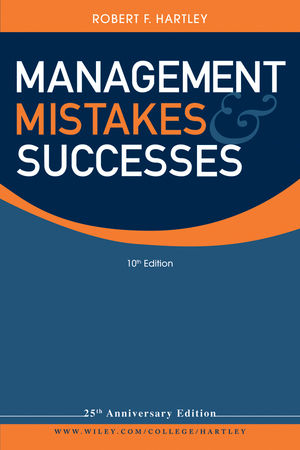 Management Mistakes and Successes, 10th Edition (0470913177) cover image